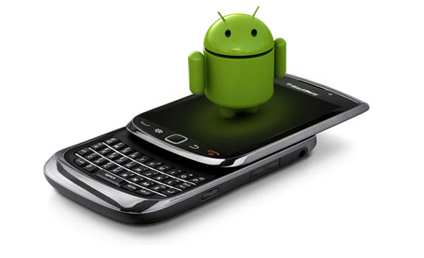 smartphone BlackBerry Android